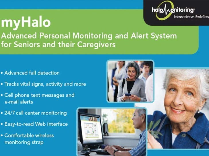 Overview of Halo Monitoring (Advanced Monitoring System for Seniors) for NYC Health 2.0 Slide 2