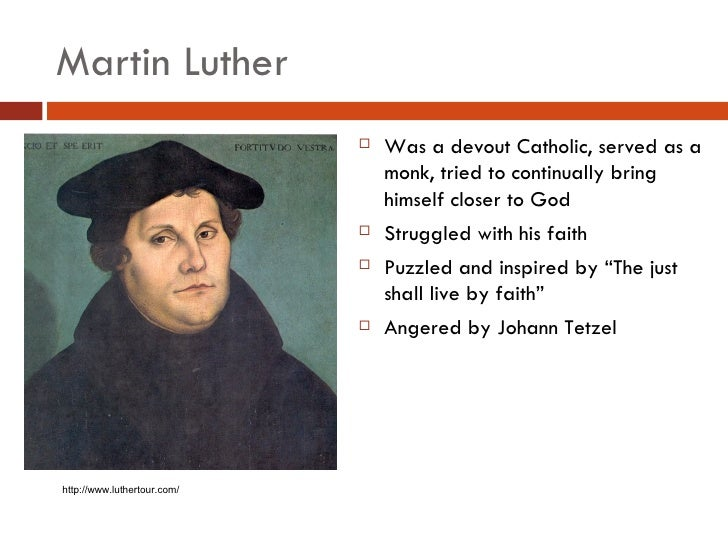 Protestant Reformation By Martin Luther How To Make A
