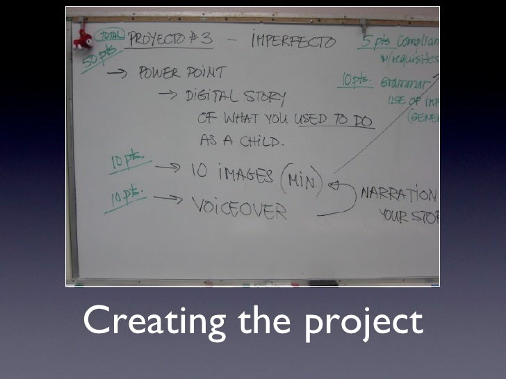 Creating the project