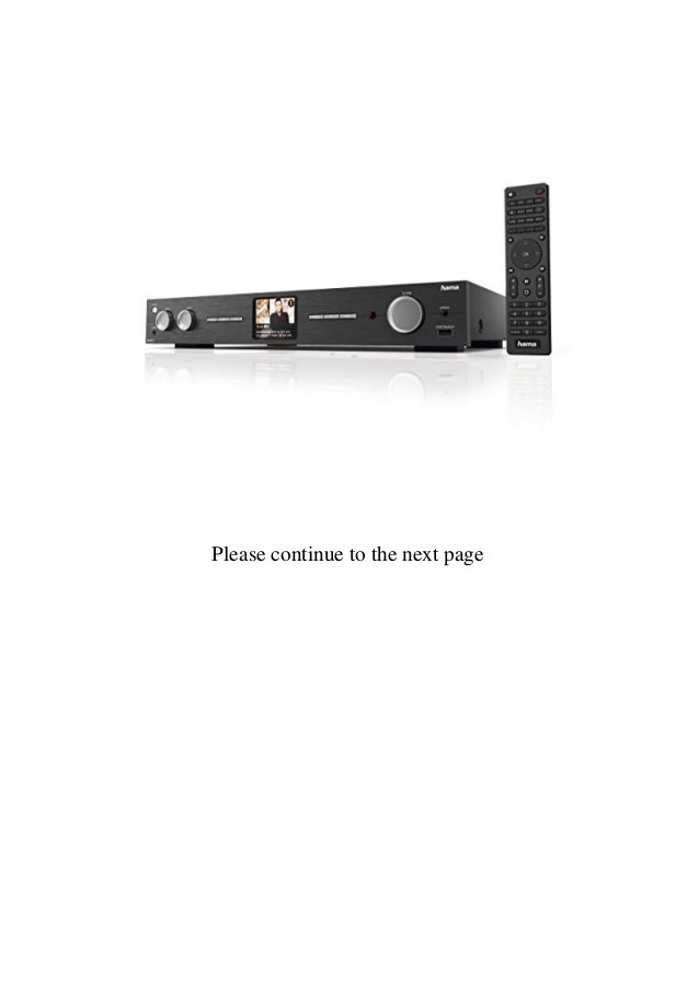 Hama DIT2010MBT Pro Digital Hi-Fi Tuner with FMDABDAB+Internet RadioBluetooth  Slide 2