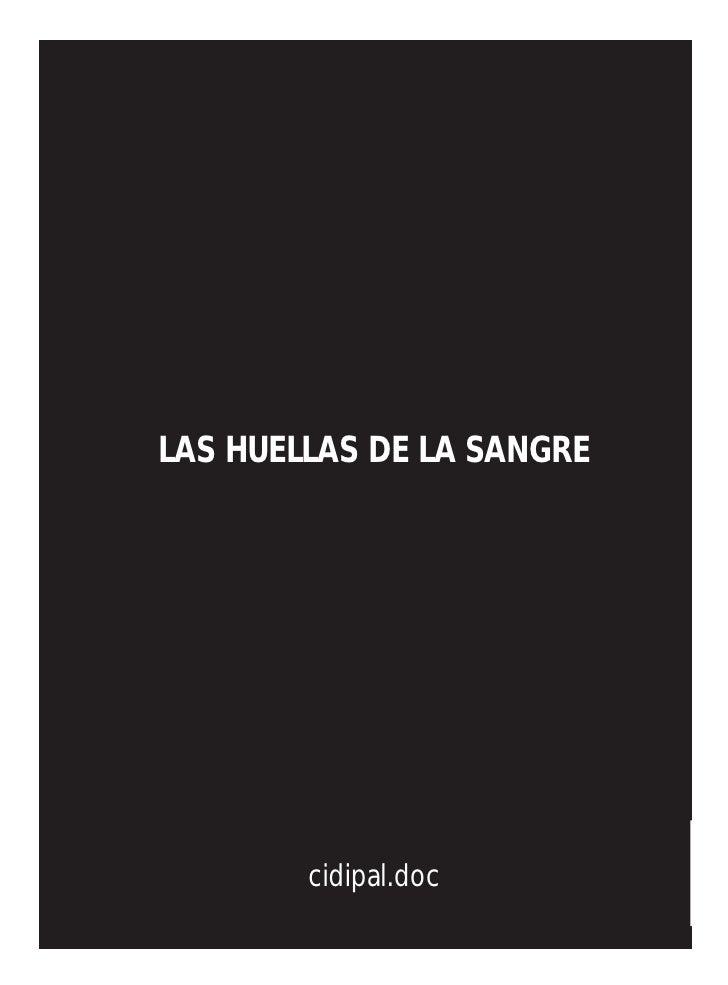 LAS HUELLAS DE LA SANGRE             cidipal.doc
