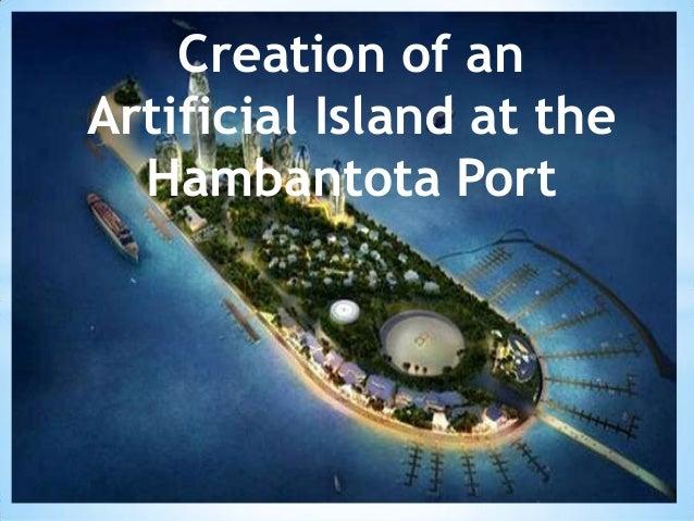 Hambantota Port Artificial Island Slide 1