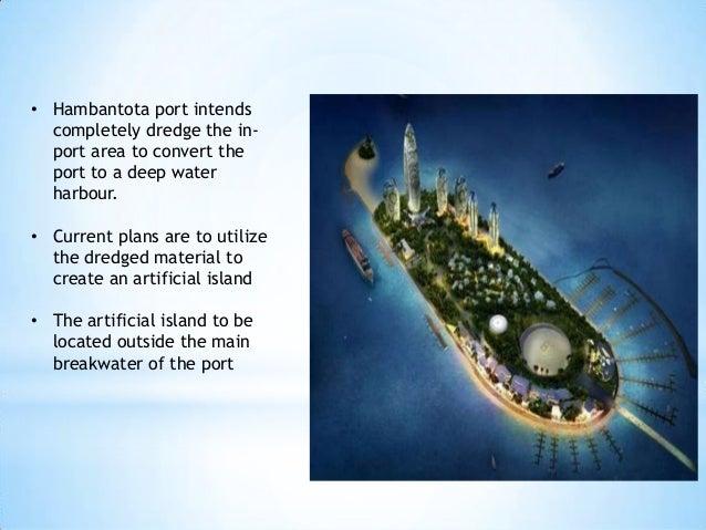 Hambantota Port Artificial Island Slide 2