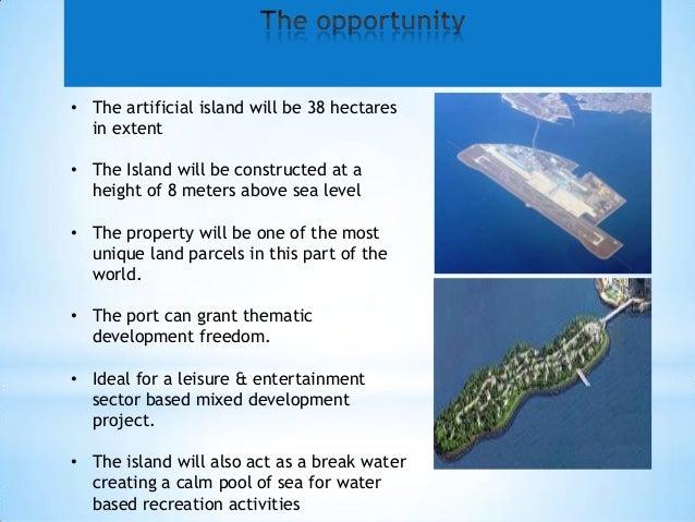Hambantota Port Artificial Island Slide 4