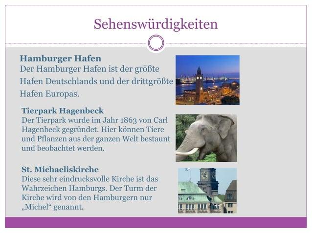 Sehenswürdigkeiten Hamburger Hafen Der Hamburger Hafen ist der größte Hafen Deutschlands und der drittgrößte Hafen Europas...