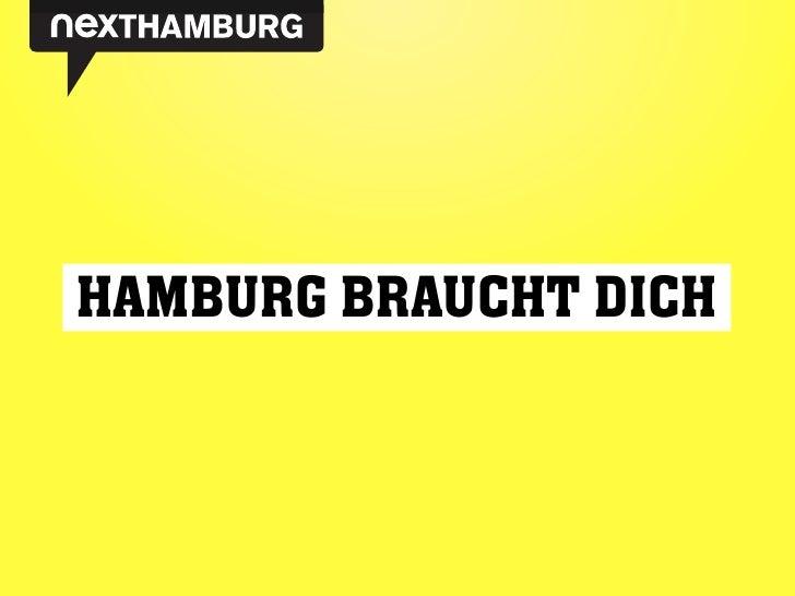 HAMBURG BRAUCHT DICH