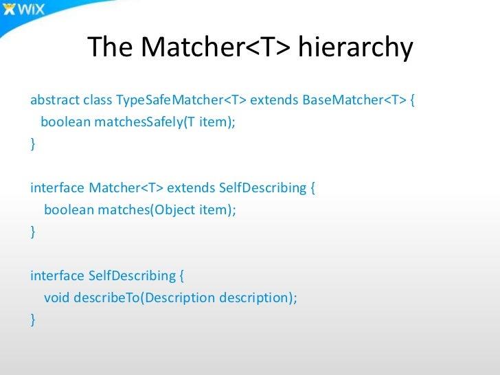 writing custom matchers hamcrest
