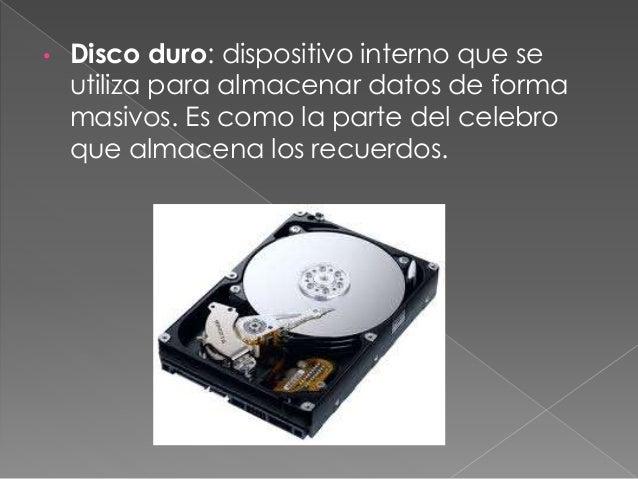 • Unidad CD/DVD: CD: lee el disco CD y gradan CD-r o cd-rw . Dvd: leen discos CD y DVD y gravar discos CD-r, cd-rw, DVD-r ...