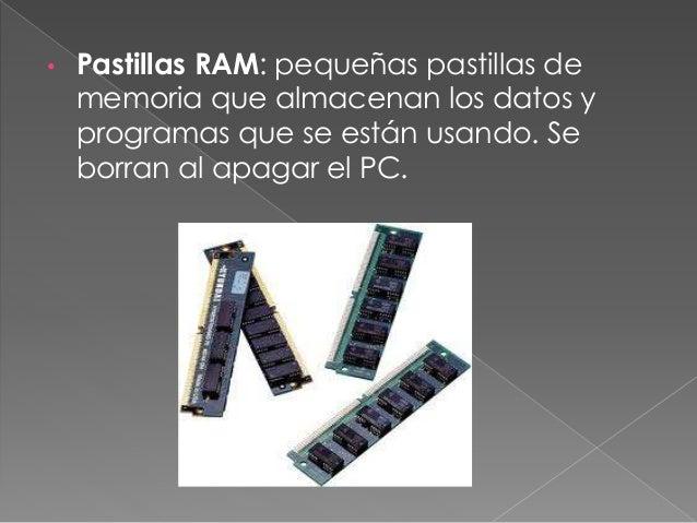 • Placa base: en ella se conecta la mayoría de componentes internos, unidos entre si por circuitos impresos.