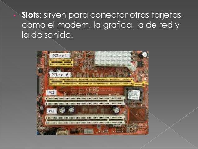 • Ventilador/cooler: sirve para refrescar los componentes internos del PC, especialmente los microprocesadores.