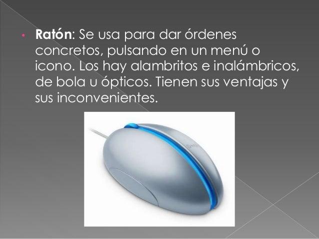 • Micrófono: sirve para gravar sonidos en el PC, que serán digitalizadas luego por la tarjeta de sonido. No sirven para ha...