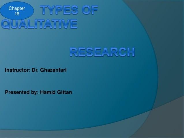 Instructor: Dr. Ghazanfari Presented by: Hamid Gittan Chapter 16