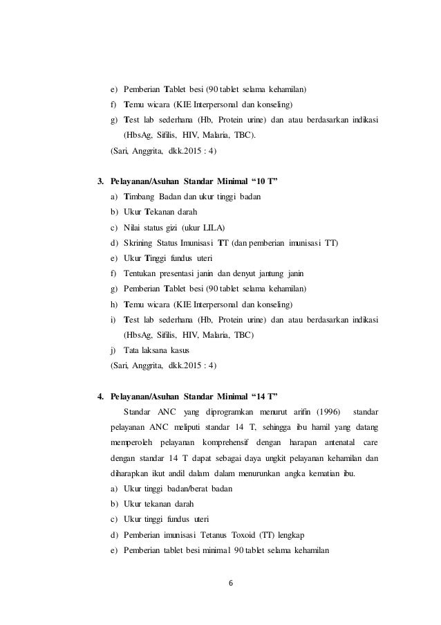 STANDAR 7T DALAM ANTENATAL CARE (ANC)