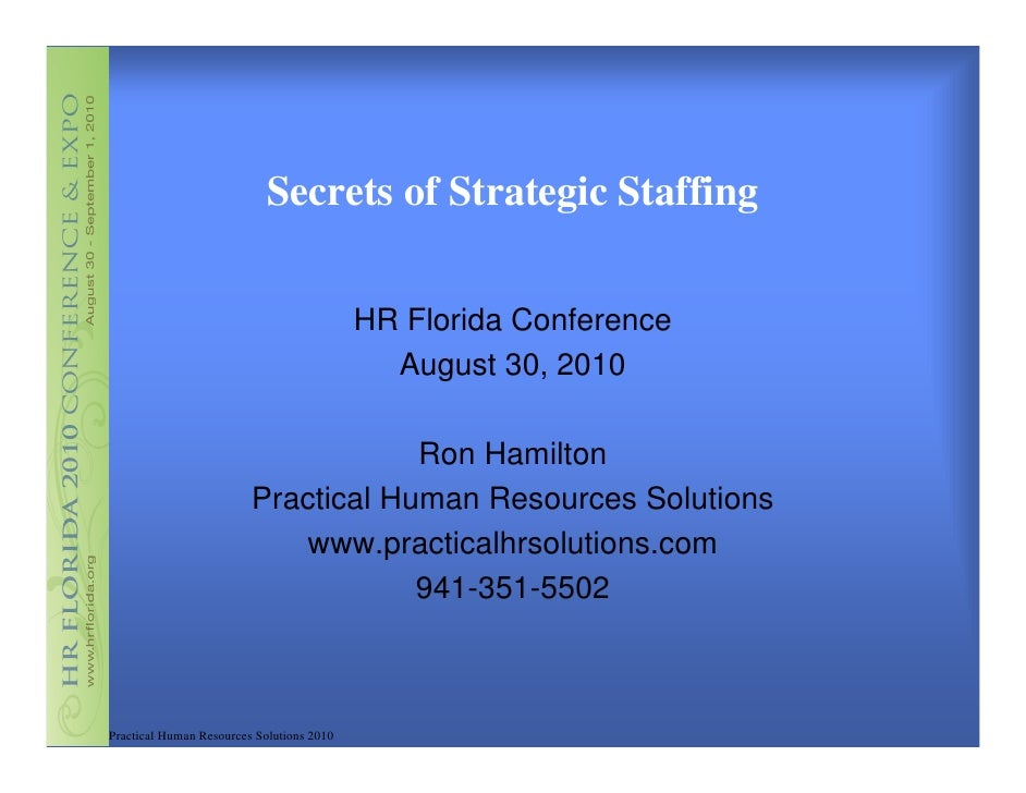hr594 strategic staffing Home essays international staffing international staffing staffing hrm 240 - human resource management 594: strategic staffing.