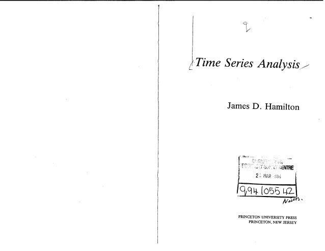 Hamilton 1994 Time Series Analysis Pdf