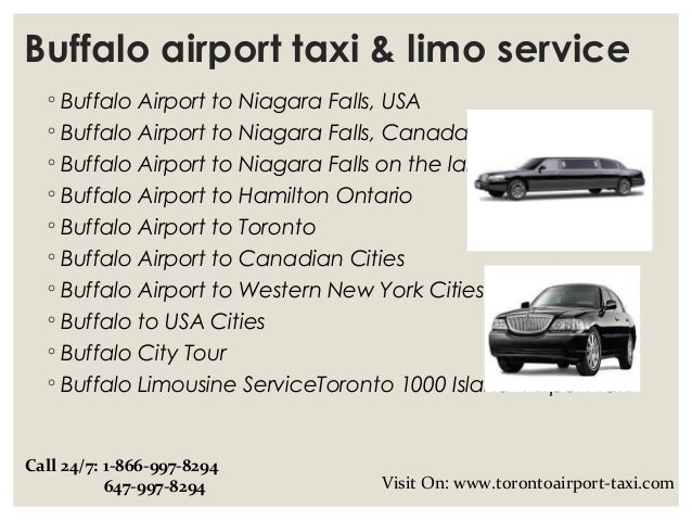 Buffalo airport taxi & limo service Slide 2