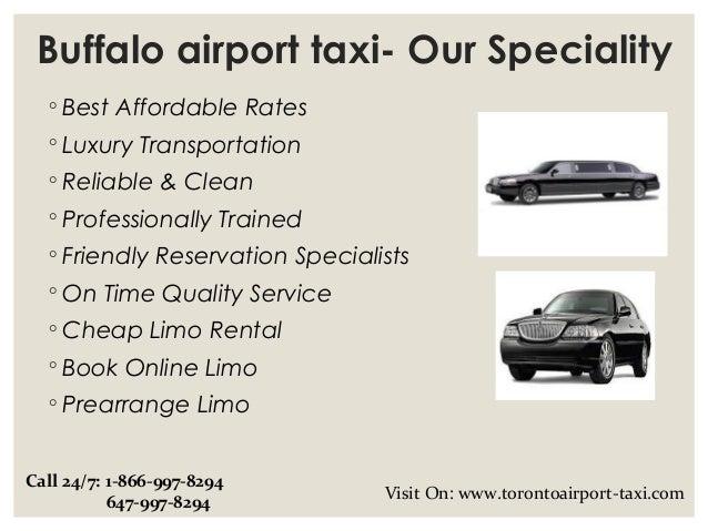 Buffalo airport taxi & limo service Slide 3