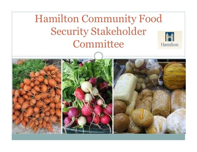 Hamilton Community Food Security Stakeholder Committee