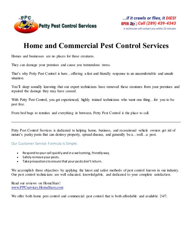 Hamilton Home And Commercial Pest Control Services