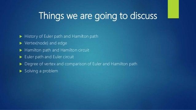 Hamilton path and euler path Slide 2
