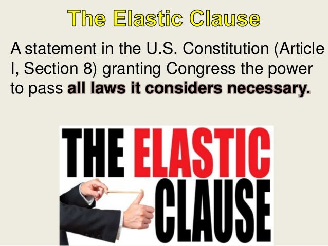 Hamilton S Plan Elastic Clause