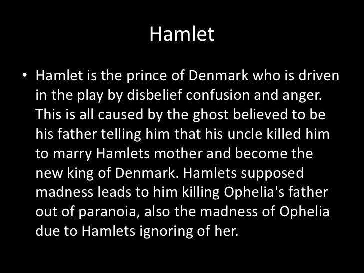 hamlets paranoia They are paranoid because they just lost a king its dark and gloomy and theres a ghost so everyone is kind of on edge shakespeare establishes this mood because it is night time and there.