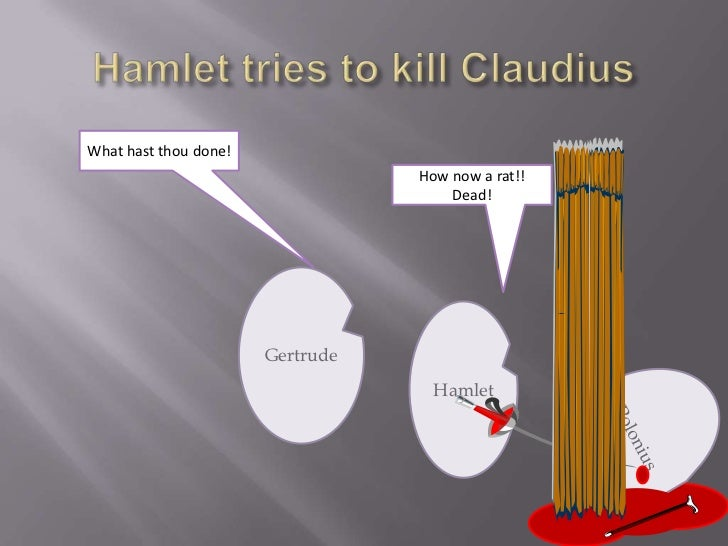 did hamlet kill claudius