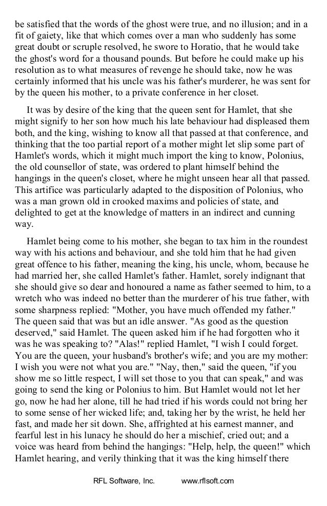 """hamlet revenge or scruples Hamlet, unlike fortinbras, has been indecisive about avenging his father's death, either because of mindlessness, or """"craven scruple"""" (line 42), the cowardice brought on by thinking too much hamlet's what does the word dull mean at the beginning of the soliloquy (line 35) in what ways is hamlet's revenge dull."""