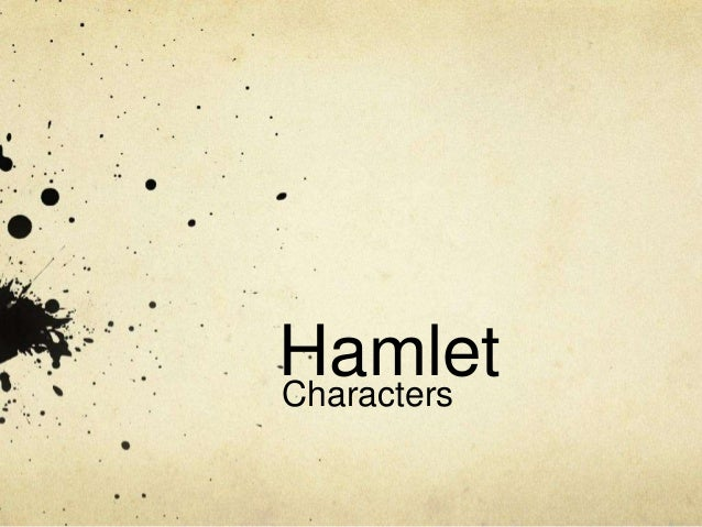 an analysis of hamlet collective Exploring the character of gertrude gertrude is hamlet's mother and queen of denmark she was married to the murdered king hamlet (represented by the ghost in the play) and has subsequently wed claudius, his brother.