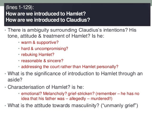 hamlets 4th soliloquy analyze