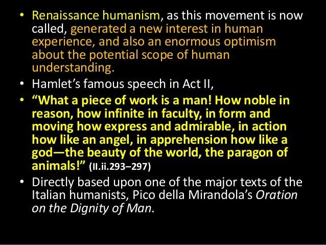 Hamlet as a renaissance man understanding