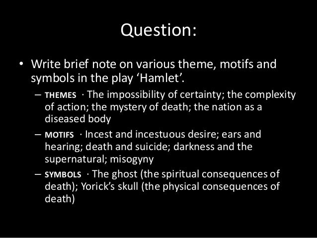 reflections on the question of sanity of shakespeares hamlet Hamlet questions and answers hamlet kills polonius in act 3, scene 4 of william shakespeare's hamlet because he believes him to be king claudius.