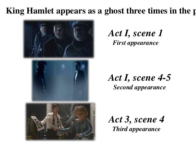 the ghost of king hamlets influence on the tragic outcome of the play hamlet by william shakespeare Concerning shakespeare's hamlet, the ghost's purpose in the play is to avenge  his own death the ghost is the ghost of hamlet's father, who was killed by.
