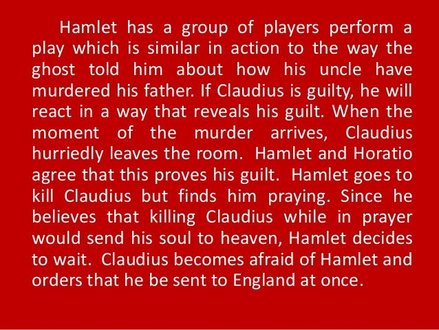 antithesis in hamlet act 4 This scene also presents polonius and his son laertes, who is foil to hamlet   to be contracted in one brow of woe (4) that we with wisest sorrow thinl on him .