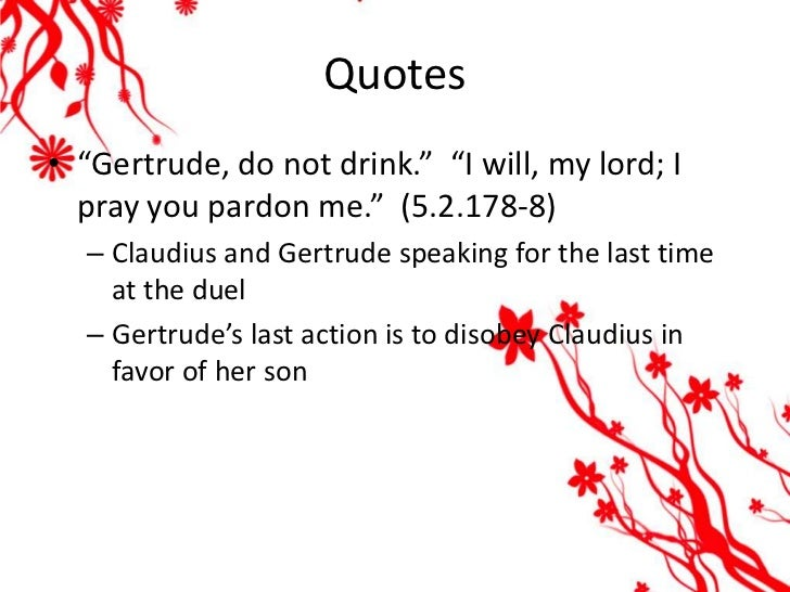 gertrude quotes