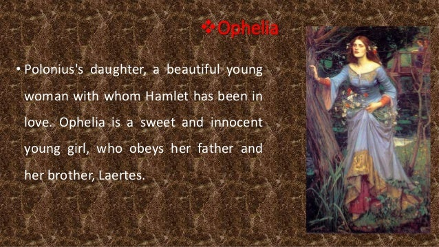 essay about hamlet and ophelias relationship Discuss the nature of hamlet and ophelias relationship and how it could be displayed to an audience the relationship between hamlet and ophelia is extremely hard to read, they are seldom together and when they are, they are acting under the influence of.