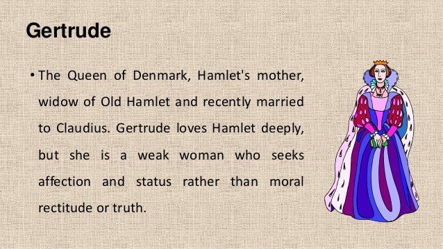 The character of Gertrude in Hamlet Essay