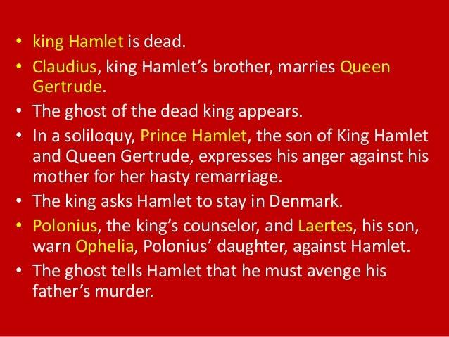Hamlet story short summary