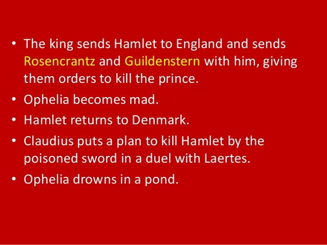 a brief summary of hamlet There is early in kenneth branagh's hamlet'' a wedding celebration, the danish court rejoicing at the union of claudius and gertrude the camera watches, and then pans to the right, to reveal the solitary figure of hamlet, clad in black.