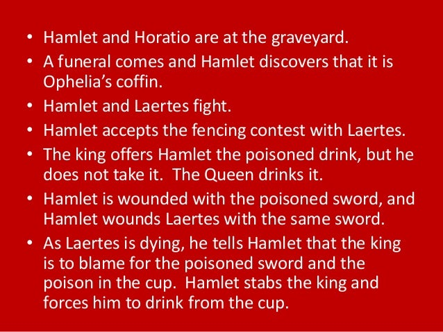 a summary of act 4 of the play hamlet Hamlet summary provides a quick review of the play's plot including every important action in the play hamlet summary is divided by the five acts of the play and is an ideal introduction before reading the original text.