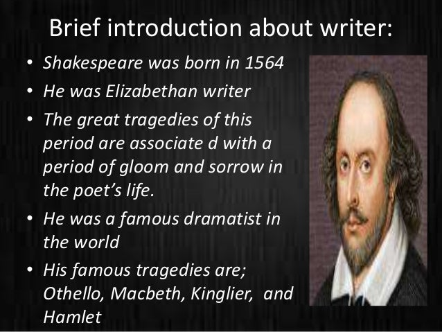 Summary of Hamlet | Shakespeare Birthplace Trust