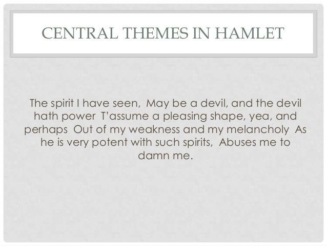 central theme of hamlet