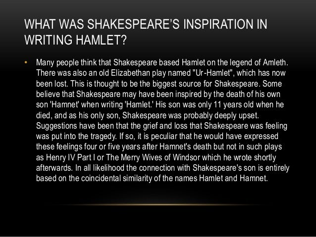 what would an elizabethan audience think of hamlet In hamlet, shakespeare asks the audience to empathize with hamlet's desire for redress hamlet is a sympathetic character precisely because the notion of revenge drives him while his christian morality and inclination simultaneously exhort him to be charitable.