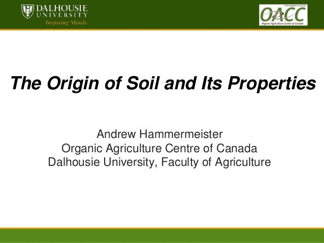 hammemermeister origin of soil its