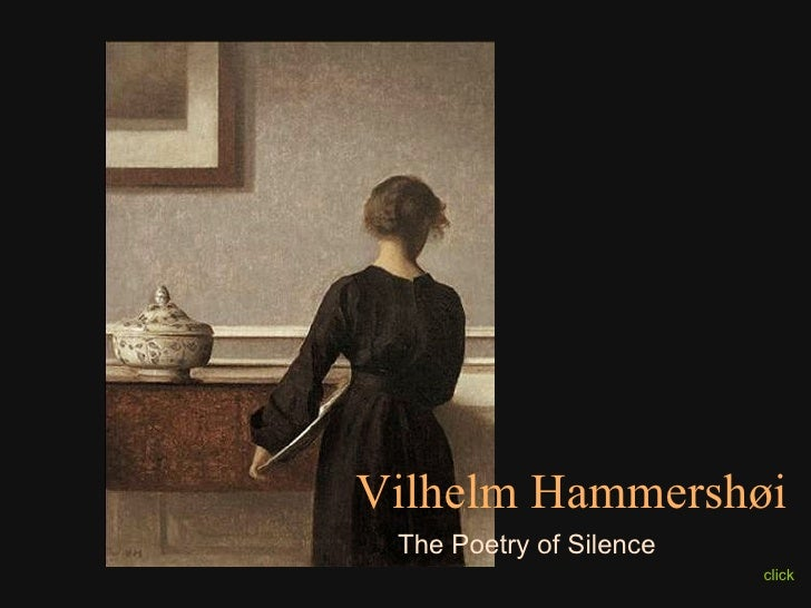 click Vilhelm Hammershøi The Poetry of Silence
