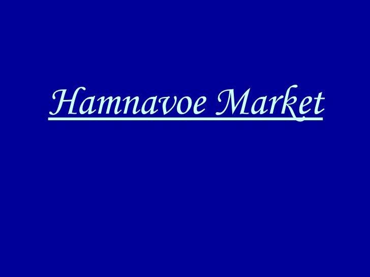 Hamnavoe Market