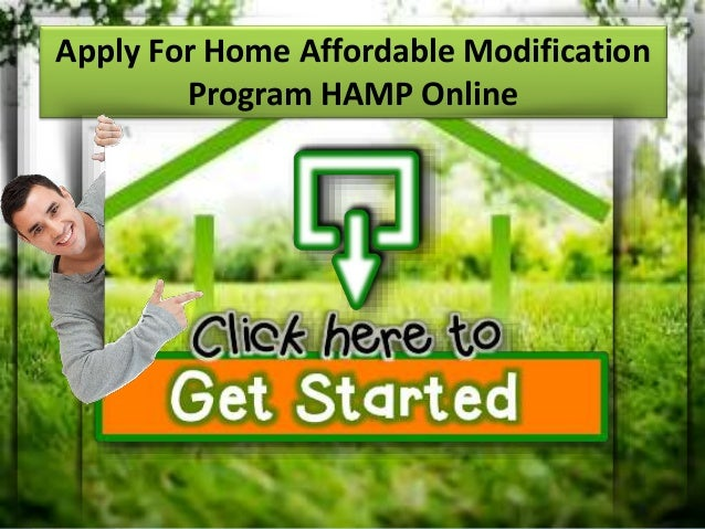 Learn about home affordable modification program Home affordable modification program