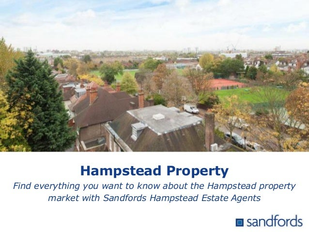 Hampstead Property Find everything you want to know about the Hampstead property market with Sandfords Hampstead Estate Ag...