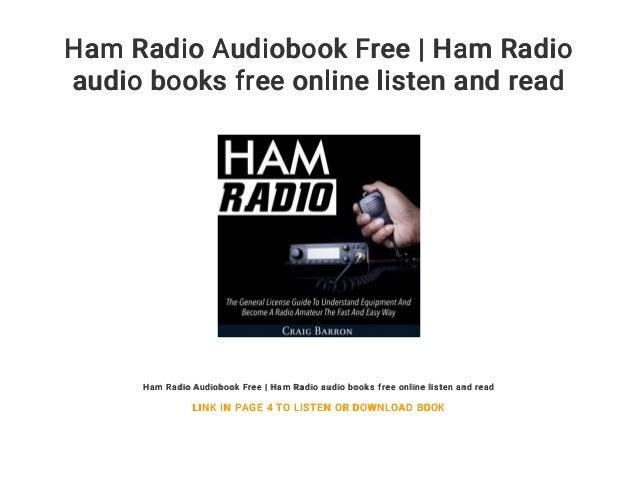 ham radio audiobook free | ham radio audio books free online listen a…