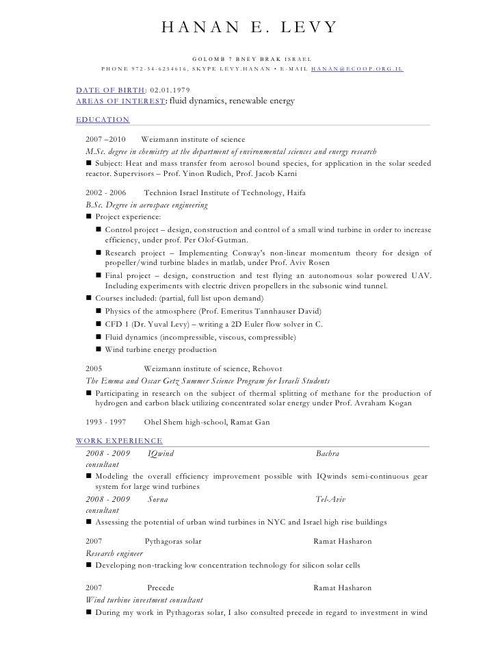 HANAN E. LEVY                                 GOLOMB 7 B NEY BR AK ISRAEL       PHONE 972-54-6254616, SKYPE LEVY.HANAN • E...